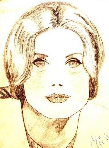 Catherine Deneuve by Switia